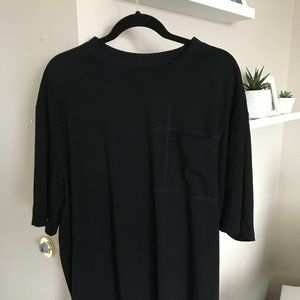 Fairplay All is Fair black shirt with patch pocket